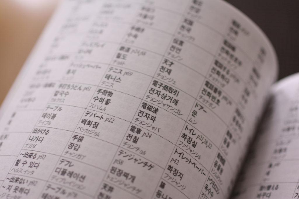 旅の指さし会話帳 韓国 (6)