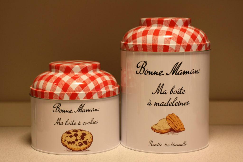 ボンヌママン 缶