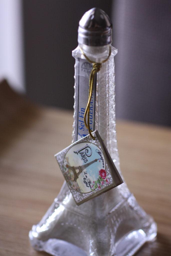 エッフェル塔瓶入りの塩