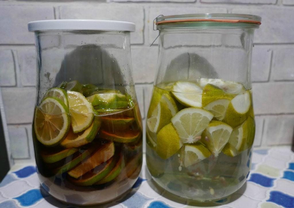 自家製レモンシロップ&レモン酒
