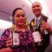 厳選されたニュージーランドワインが堪能できる、ニュージーランド航空の機内食が美味しい!